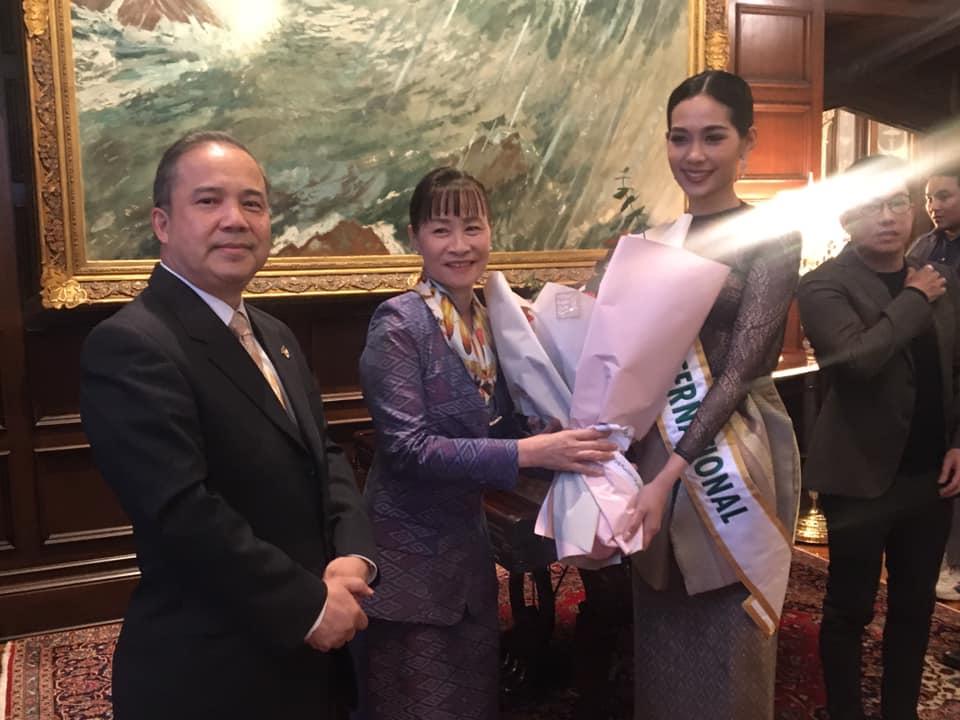 Official Thread of MISS INTERNATIONAL 2019 : Sireethorn Leearamwat of THAILAND 75034501-2804018772982356-2270874261662990336-n