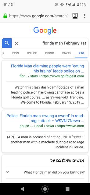 Florida man february 1st