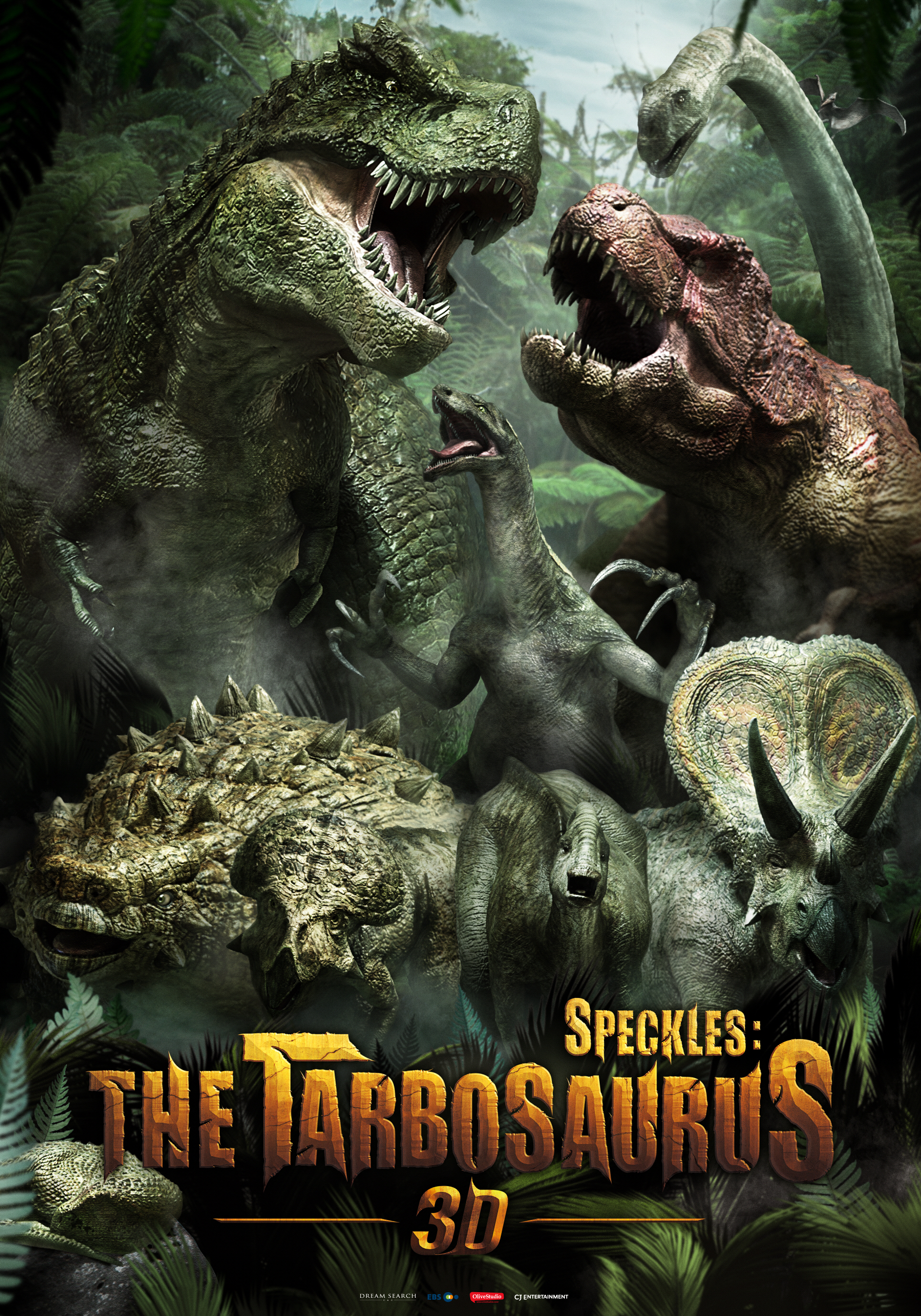 Speckles The Tarbosaurus (2012) Hindi Dubbed Movie 720p