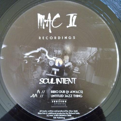 Soul Intent - Bibo Dub / Untitled Jazz Thing