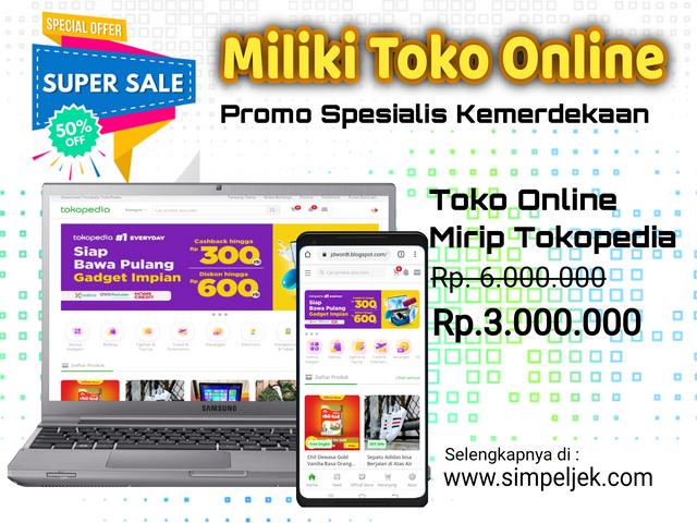 Toko Online Mirip Simpeljek