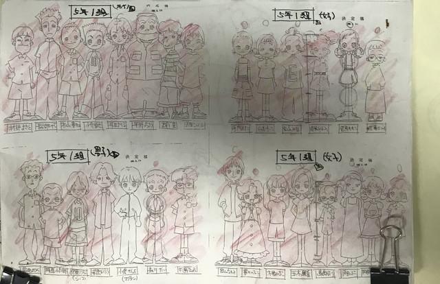 《小魔女DoReMi》原畫石崎寿夫分享動畫本傳最終話的角色表 Em2-Uve-UVQAEt-N-G-2