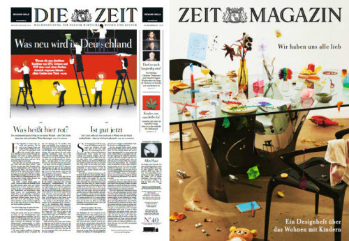 Cover: Die Zeit mit Zeit Magazin No 40 vom 30  September 2021