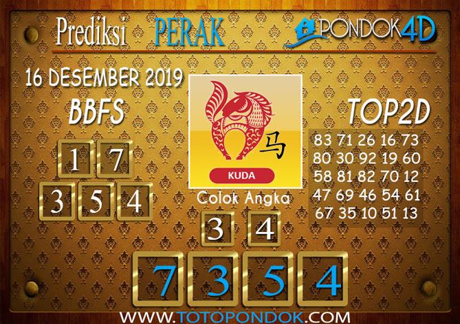 Prediksi Togel PERAK PONDOK4D 16 DESEMBER 2019