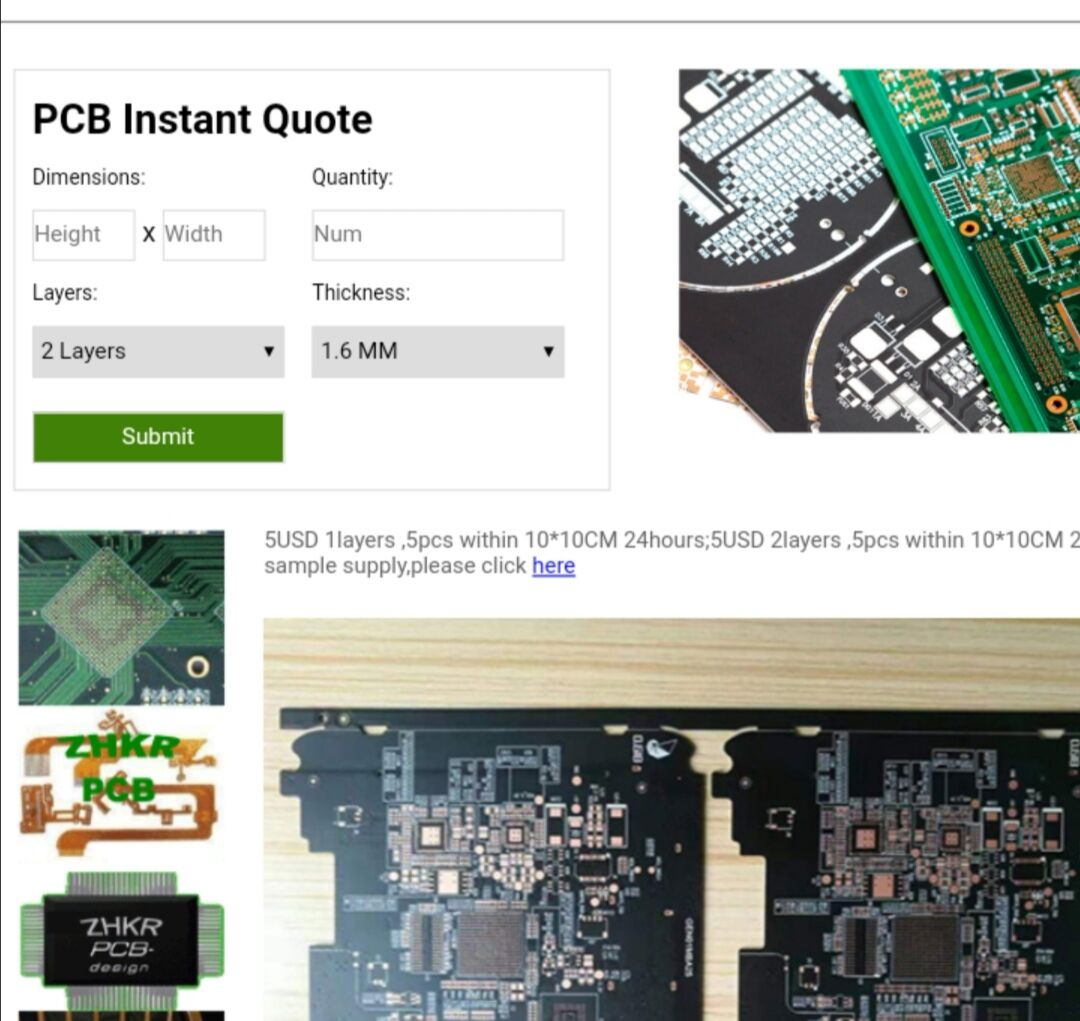 Professional PCB Manufacturer in China Announces To Supply PCB Quote Instantly online, pcb Samples within 24 Hours with Best Quality & At Best Prices