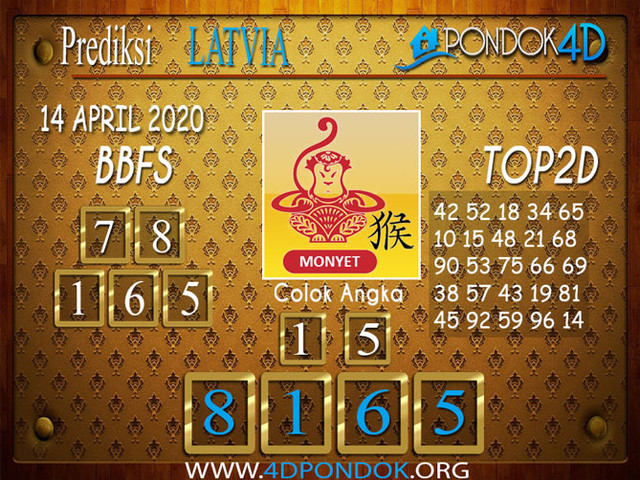 Prediksi Togel LATVIA POOLS PONDOK4D 14 APRIL 2020