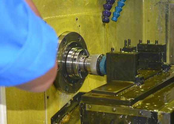 CNC Spin Cut