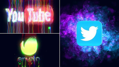 CRT Glitch Logo Reveal 33783020 - Project for After Effects (Videohive)