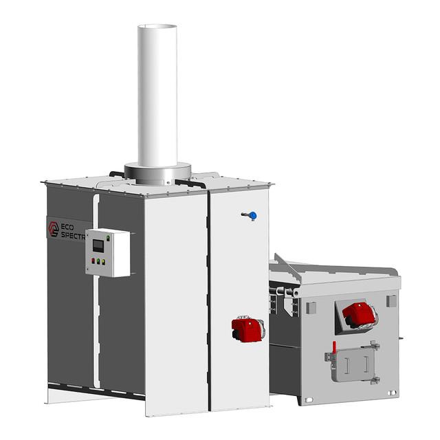 Инсинератор HURIKAN (УРАГАН) 150 - Автоматизация процессов эксплуатации