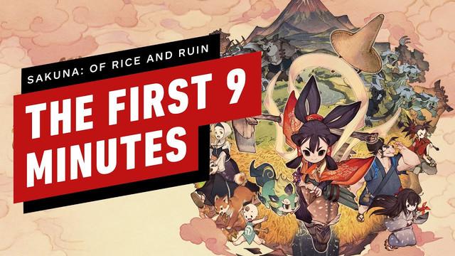 IGN近日公開了《天穗之咲稻姬》的冒頭九分鐘的實機演示,有興趣的玩家可以參考參考 Maxresdefault