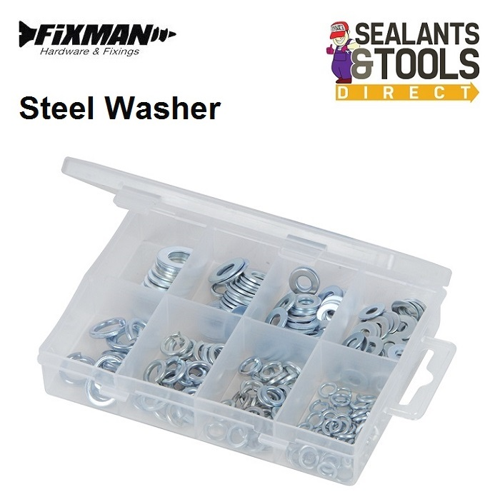 Fixman-Steel-Washers-Pack-935619
