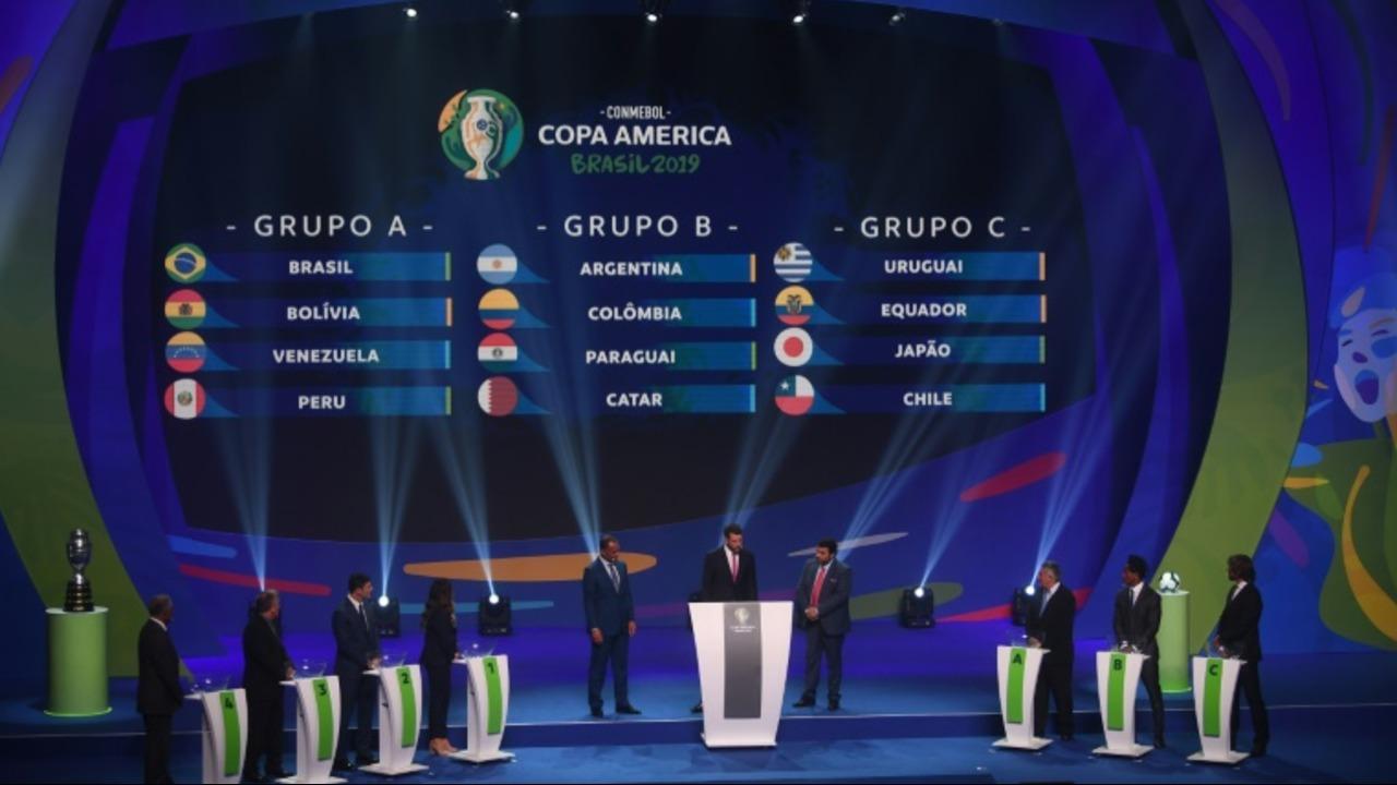 Fortuna para Brasil y más presión para Argentina en el sorteo de la Copa América-2019