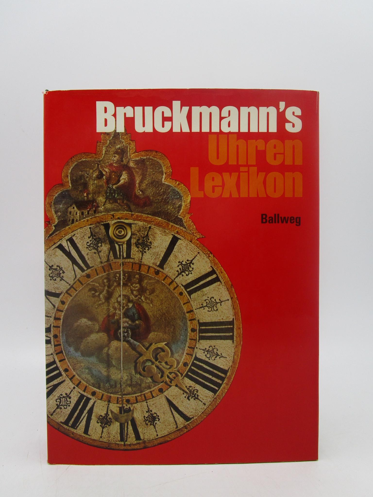 Image for Bruckmann's Uhren-Lexikon (German Edition)