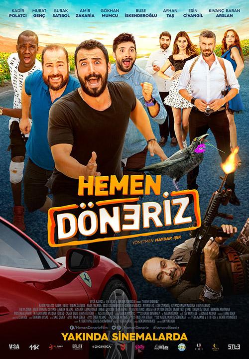 Hemen Döneriz | 2019 | Yerli Film | iTunes | 1080p | WEB-DL | AC3 | DD5.1 | Sansürsüz | Tek Link