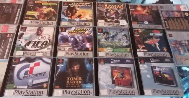 Objectif Fullset PS1 PAL Platinum = 55/152 jeux Mde