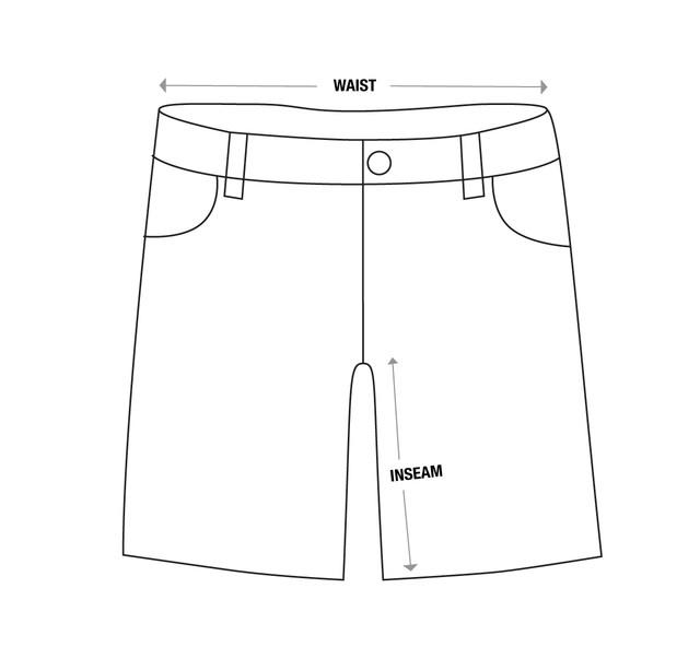 Shorts-Size-Chart-Template