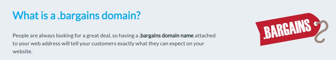 dot-bargains