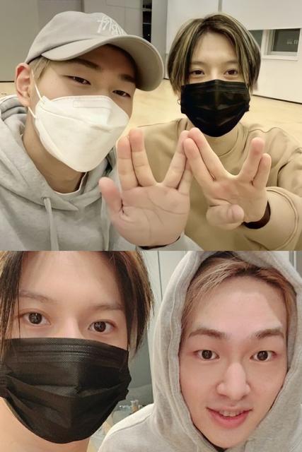 Praticando – VLIVE Onew e Taemin