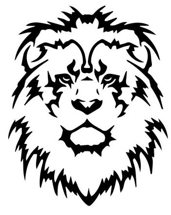 Cool-tribal-Lion