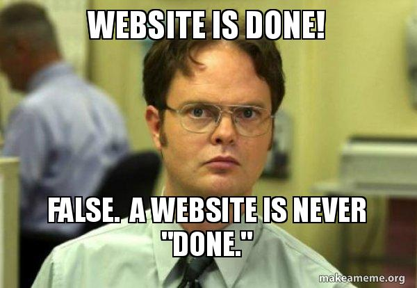 gambar website is never done