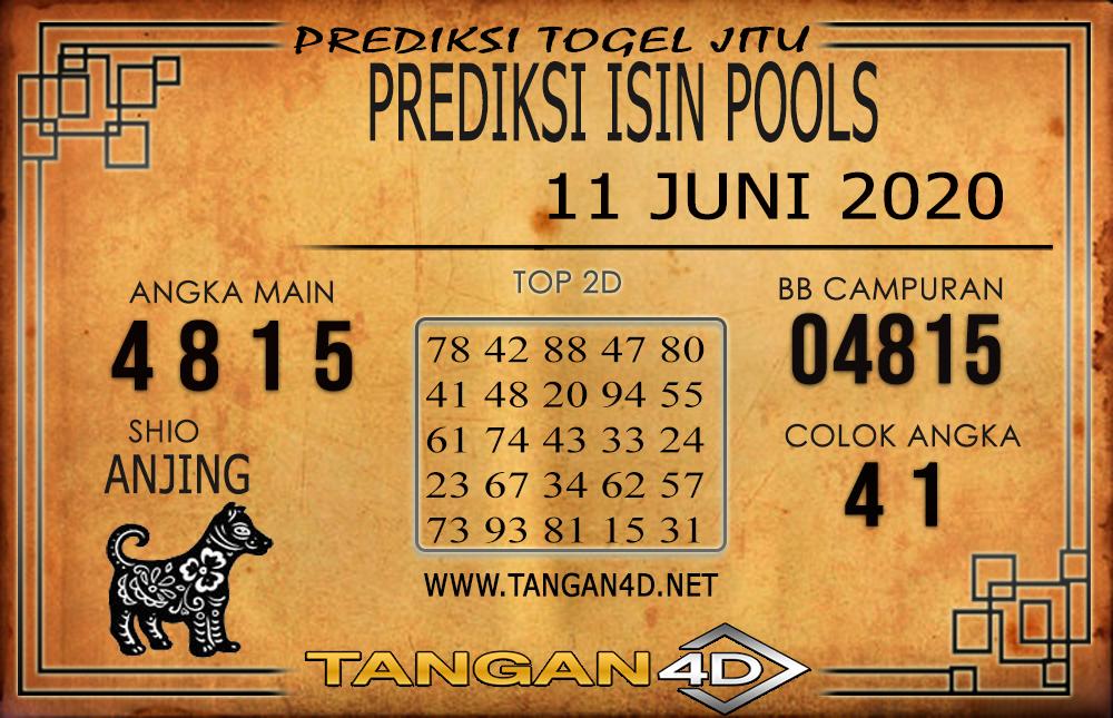 PREDIKSI TOGEL ISIN TANGAN4D 11 JUNI 2020