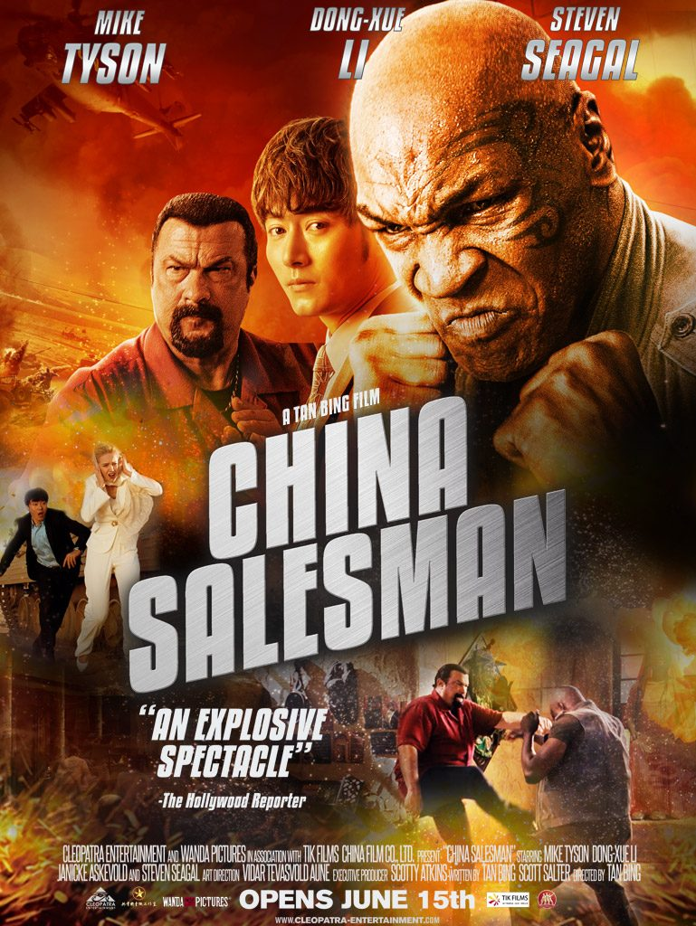 China Salesman (2017) Chinese + English HDRip 720p AAC