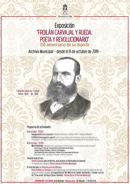 150 aniversario del fusilamiento de Froilán Carvajal