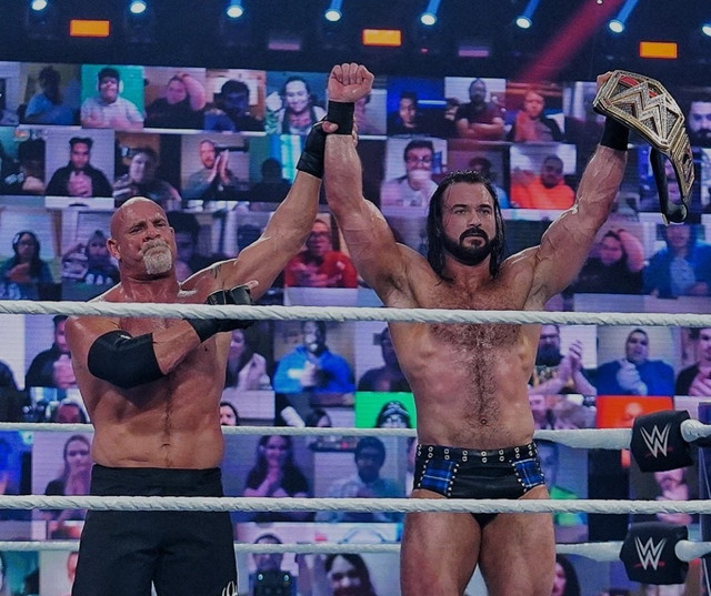 Drew McIntyre derroto a Goldberg Royal Rumble 2021