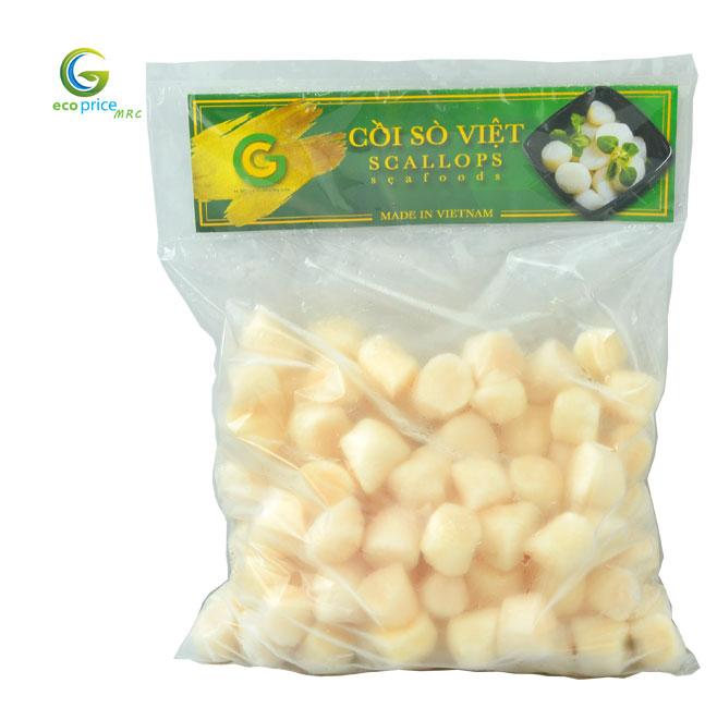Cồi Sò Điệp Việt Nam- Size 60-80 cồi/kg- GreenGood