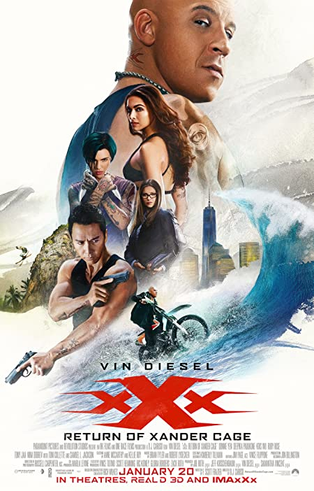 xXx: Return of Xander Cage (2017) Dual Audio 720P BluRay 1.1GB | 300MB Download