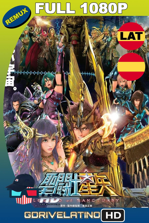 Saint Seiya: Los Caballeros del Zodiaco La leyenda del Santuario (2014) BDRemux 1080p Latino-Castellano-Japonés MKV