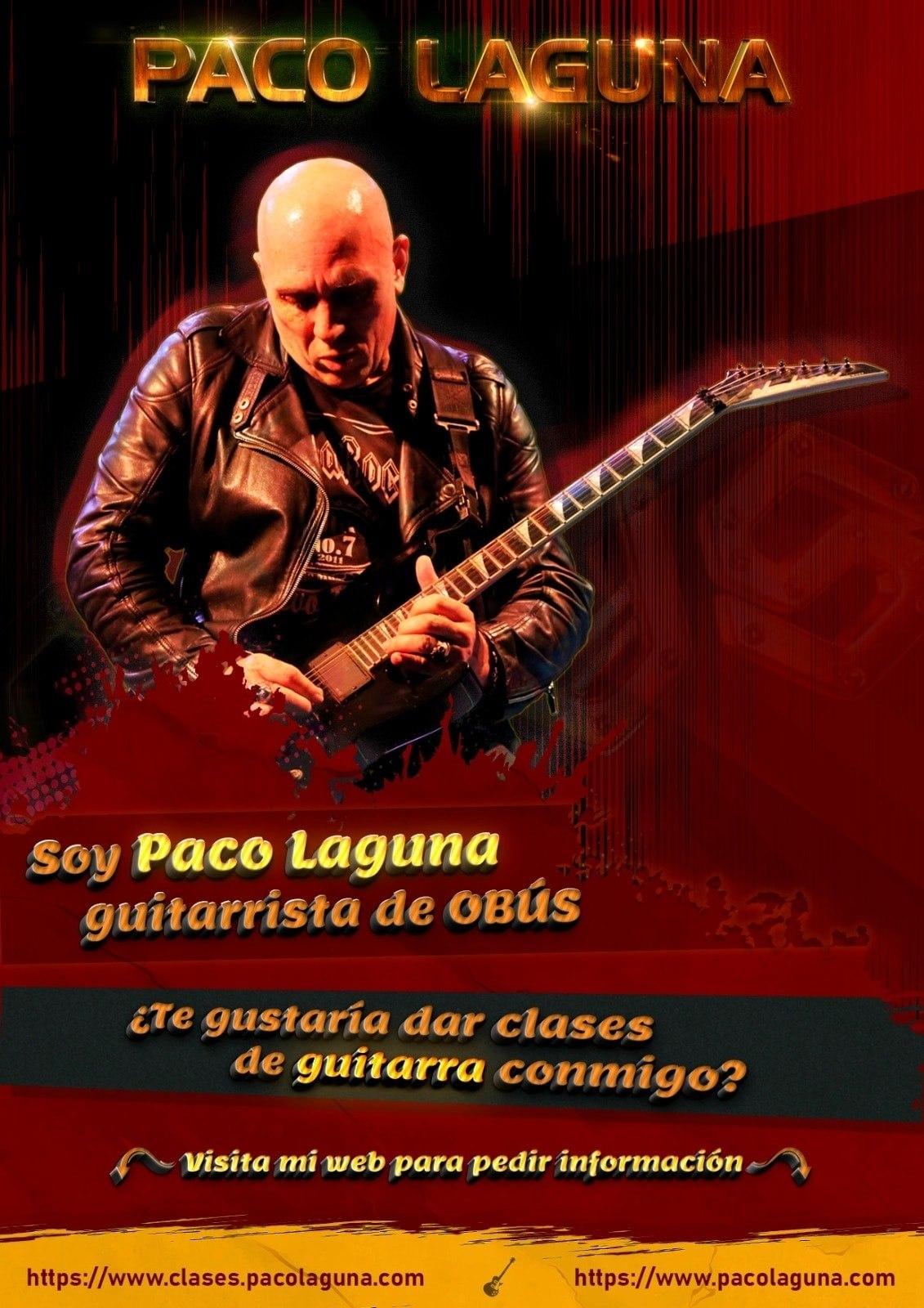 Clases de guitarra con Paco Laguna