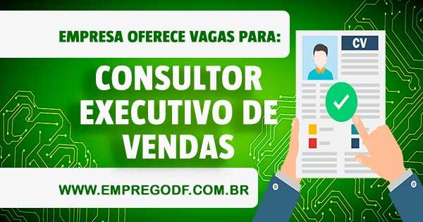 EMPREGO PARA CONSULTOR EXECUTIVO DE VENDAS