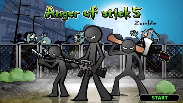 Anger of stick 5: Zombie (MOD, Unlimited Money)