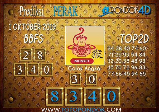 Prediksi Togel PERAK PONDOK4D 1 OKTOBER 2019