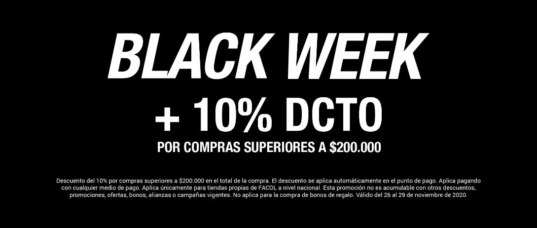 10% adicional black week