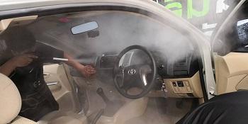 ล้างรถระบบไอน้ำ อุดรธานี