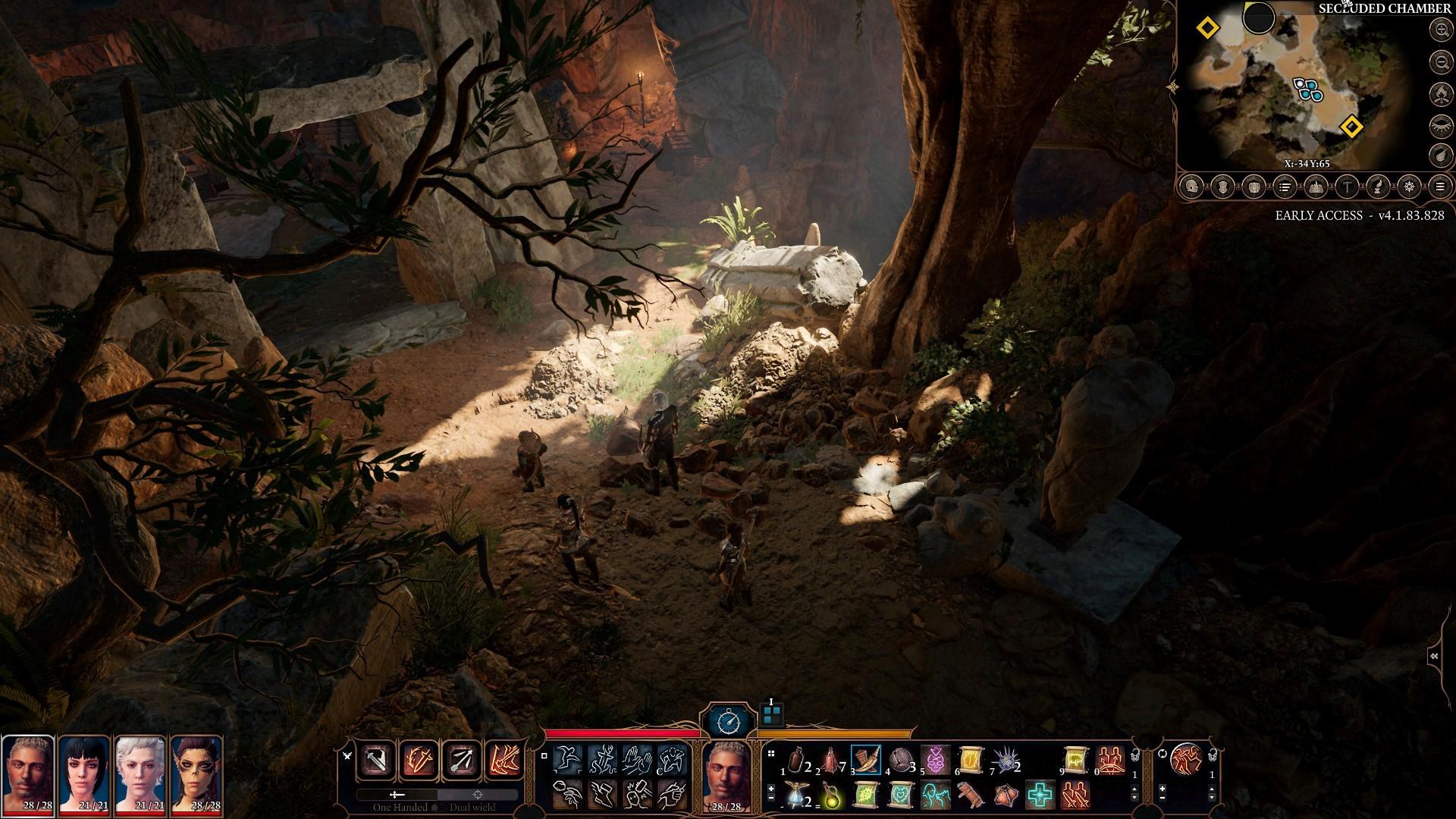 Exploration-Druids-Grove-Caves