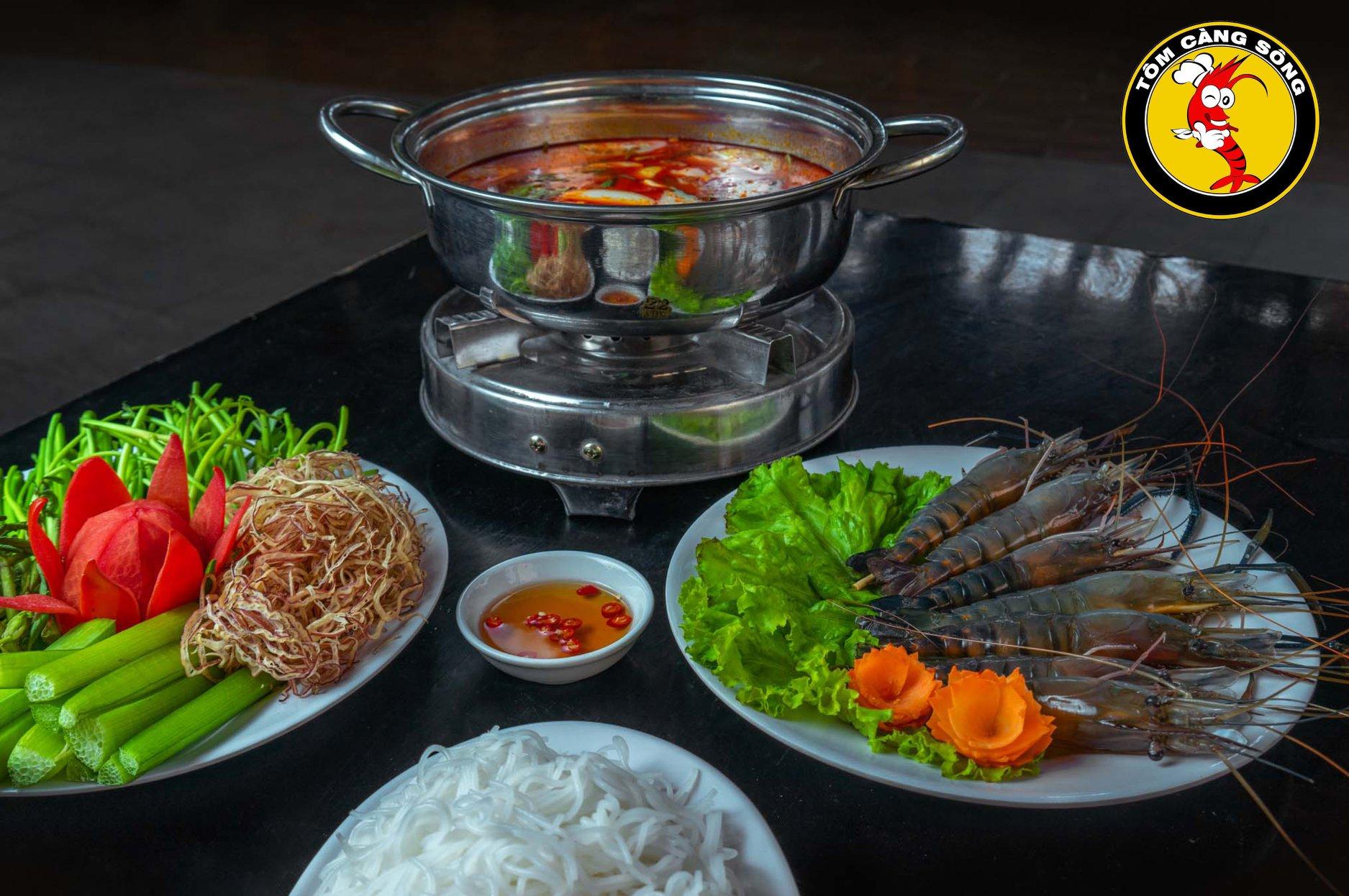 Quán ăn Tôm Càng Sông – Quang Trung