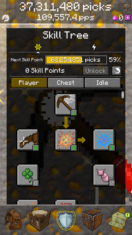 PickCrafter – Idle Craft Game (MOD, Unlimited Picks)