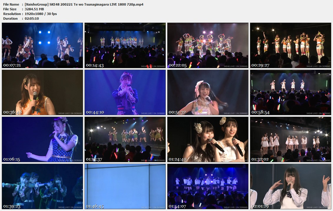 Naisho-Group-SKE48-200221-Te-wo-Tsunaginagara-LIVE-1800-720p-mp4