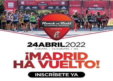 Abiertas inscripciones de la EDP Rock 'n' Roll Running Series Madrid 2022