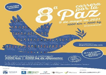 La Concejalía de Deportes del Ayuntamiento de Fuenlabrada organiza la Carrera por la Paz 2021 de manera Virtual