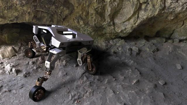 Hyundai dévoile TIGER, un concept de véhicule à mobilité ultime TIGER-Concept-in-Cave