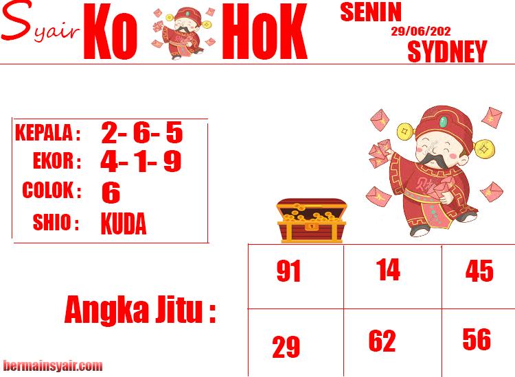 SYAIR-KOHOK-SDY