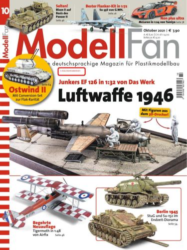 Cover: Modellfan Modellbaumagazin No 10 Oktober 2021