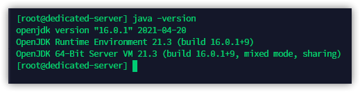 Setting a new default version of Java, and confirming the change took place
