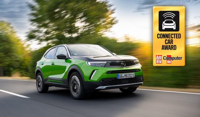 Le nouvel Opel Mokka-e remporte le « Connected Car Award » Opel-Mokka-e-513875