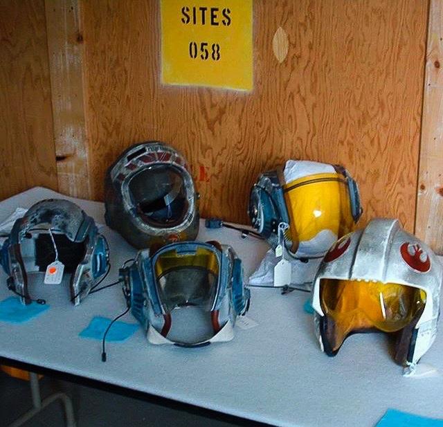 Star Wars Pilot Helmets