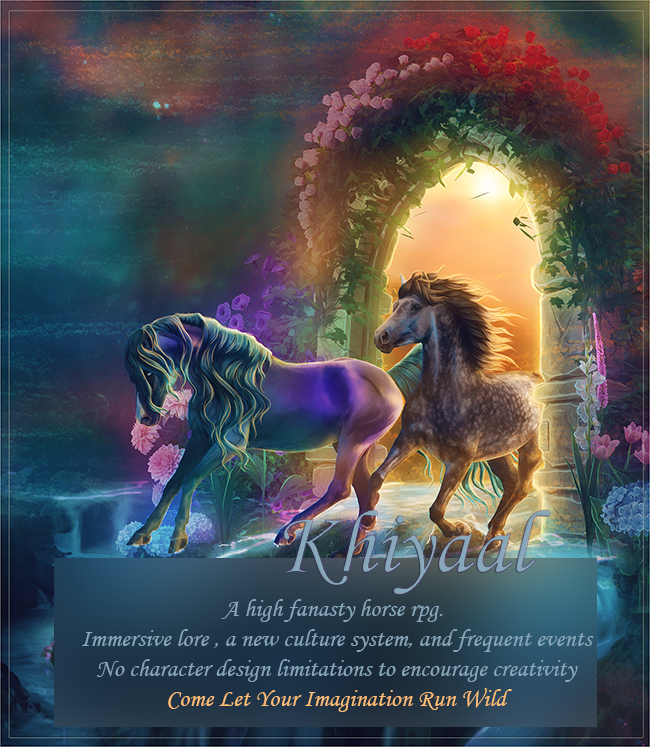 Khiyaal - a fantasy horse rpg Khiyaalimagead